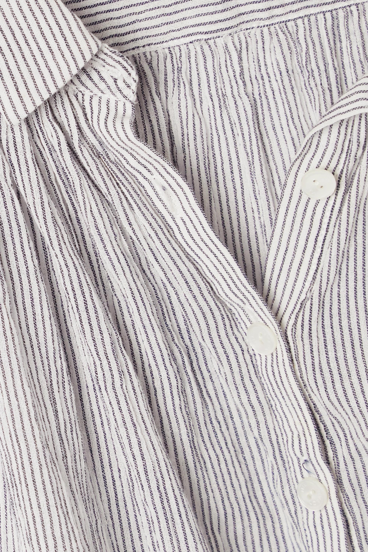 Nili Lotan Blouse en voile de coton à rayures Normandy