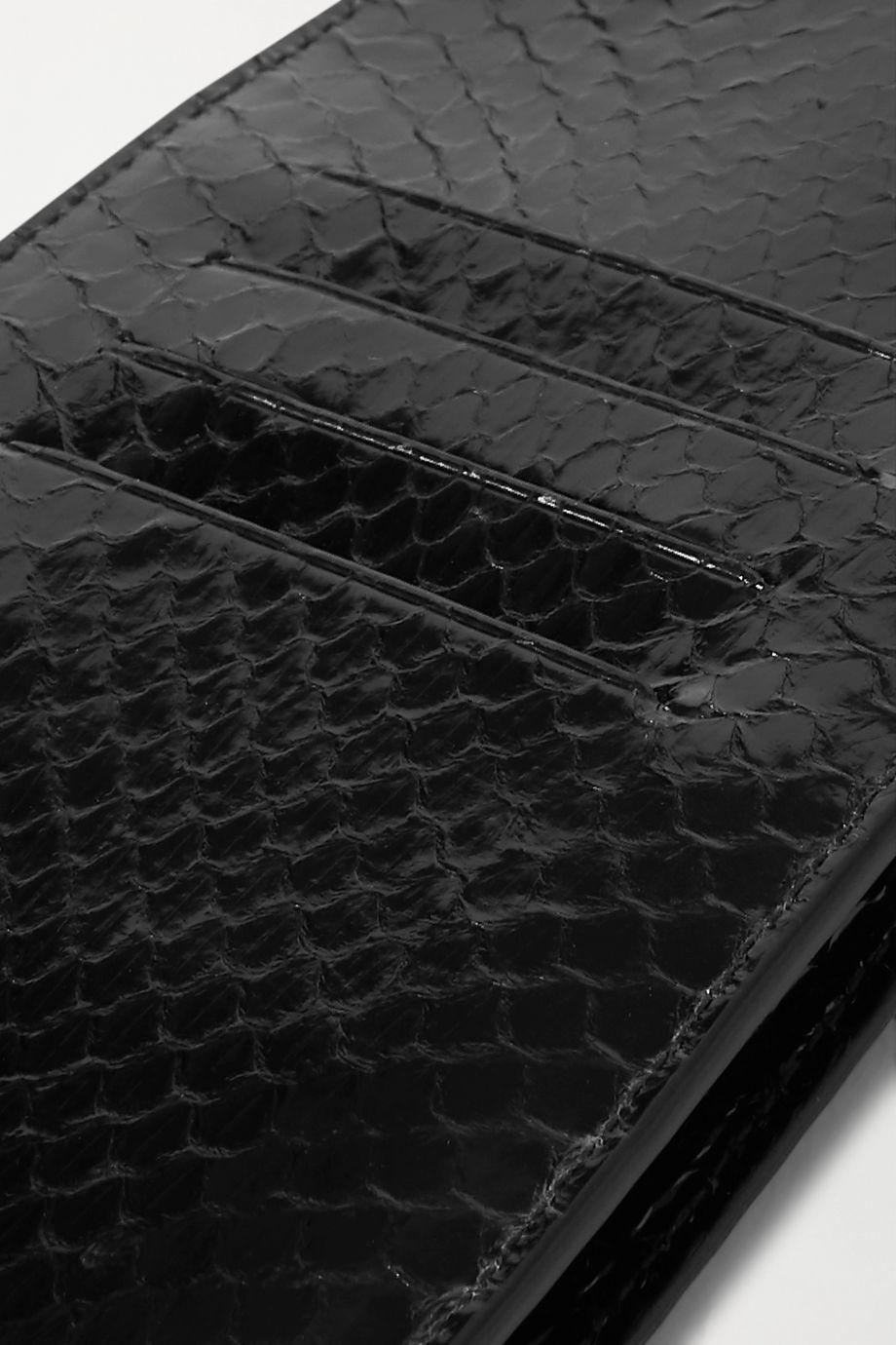 Gabriela Hearst Cardi watersnake pouch