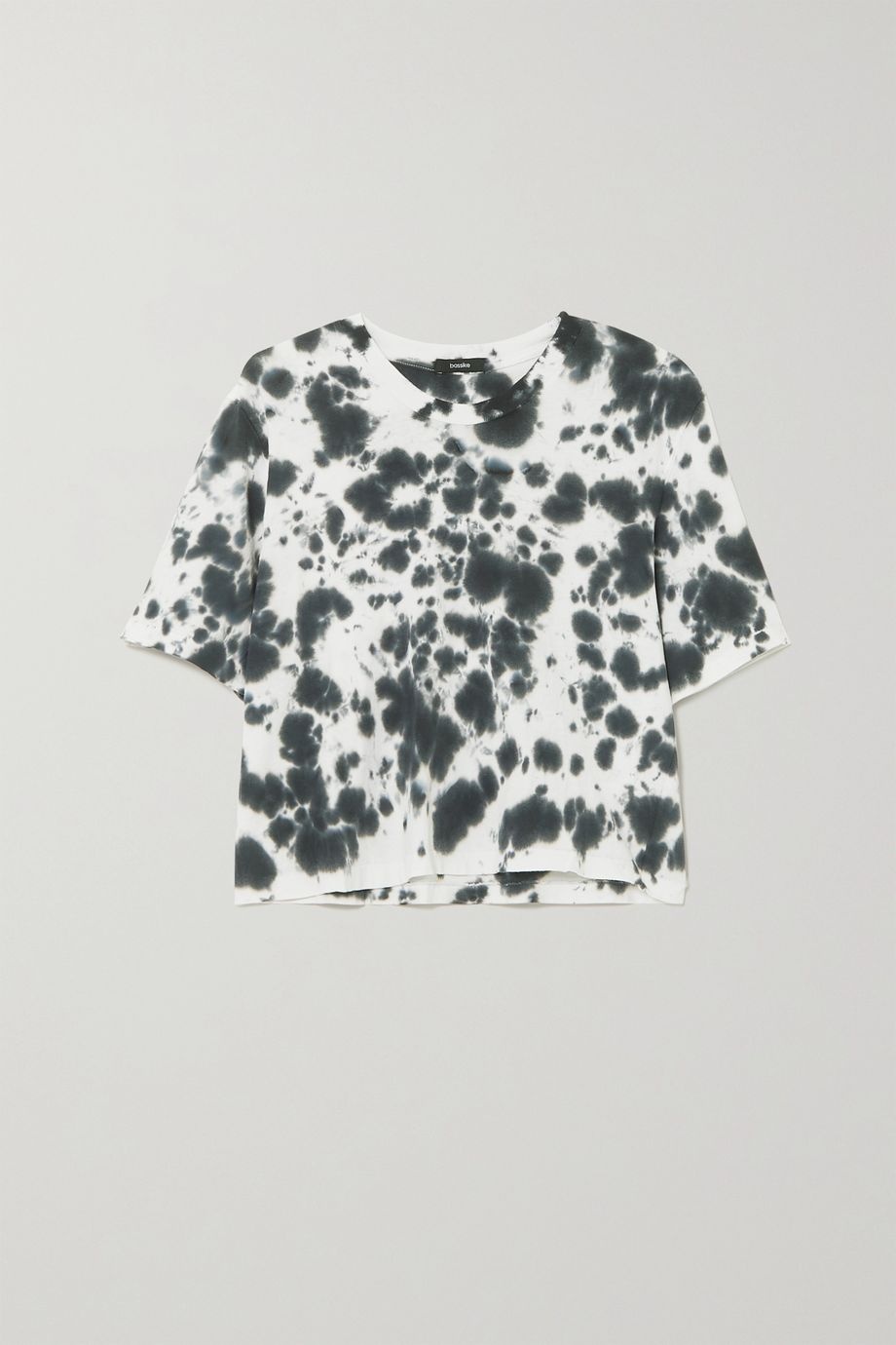 Bassike Motley tie-dyed organic cotton-jersey T-shirt
