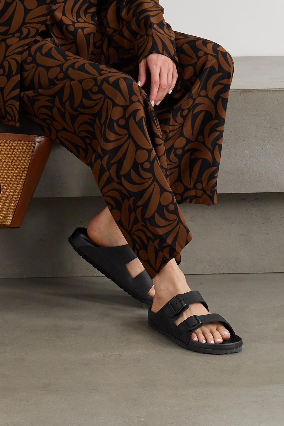 Birkenstock Arizona textured-leather sandals