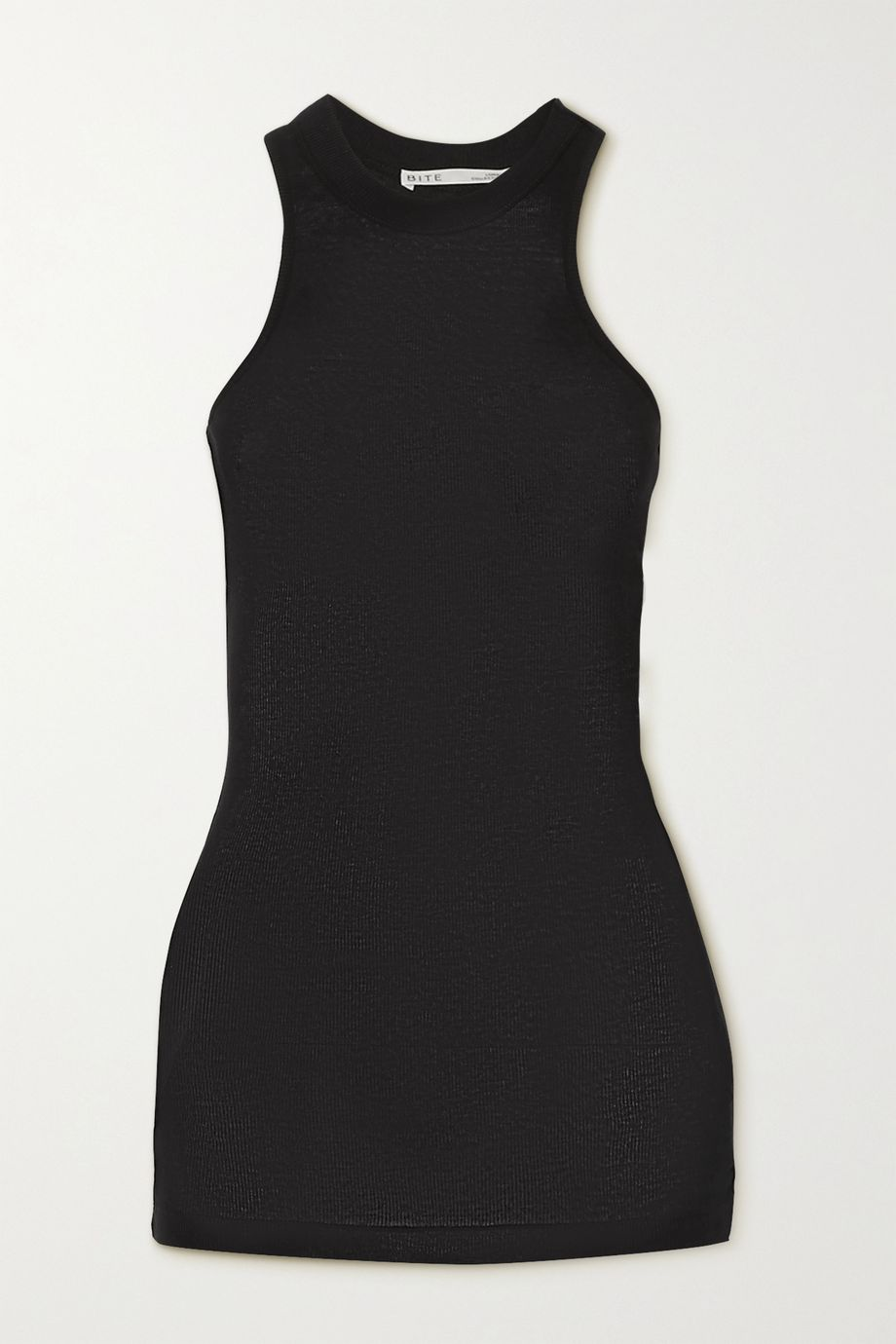 BITE Studios + NET SUSTAIN ribbed organic cotton tank