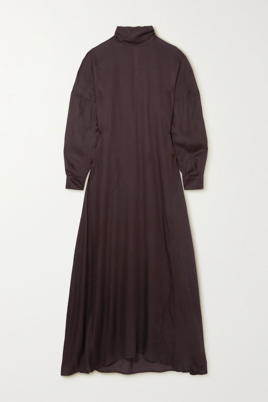 BITE Studios + NET SUSTAIN woven turtleneck midi dress