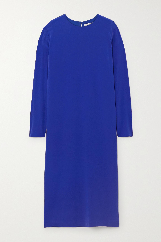 TOVE Nova silk-crepe midi dress