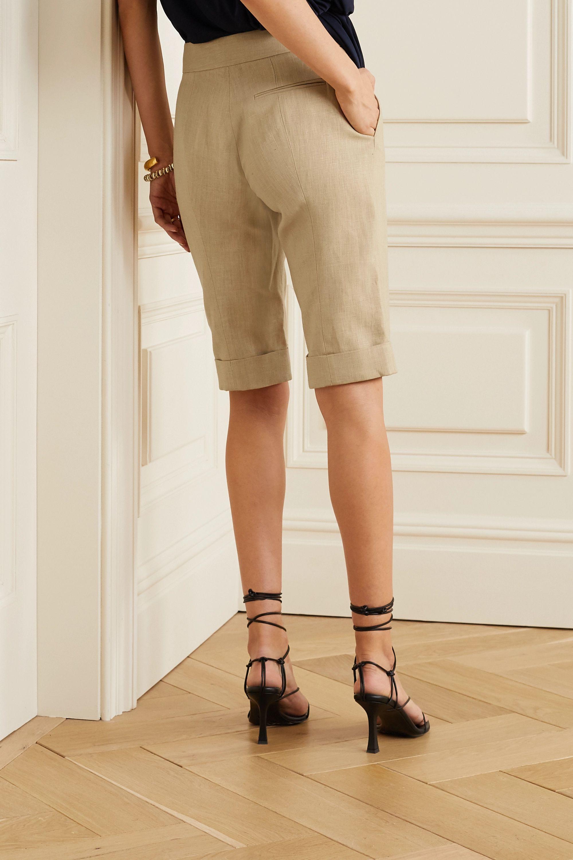 Oscar de la Renta Linen shorts