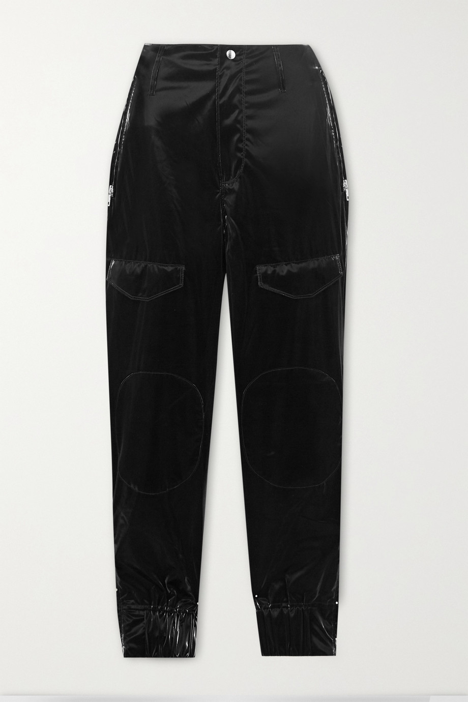 RtA Harlan PU-blend skinny pants
