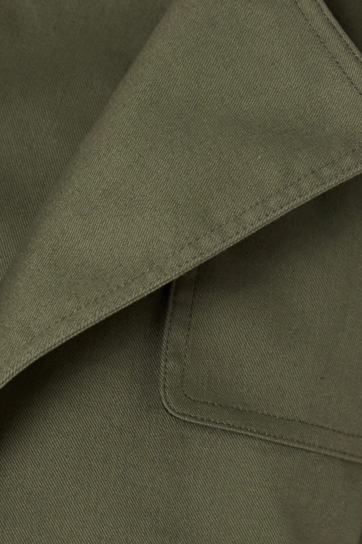 RtA Harlow cotton-gabardine trench coat