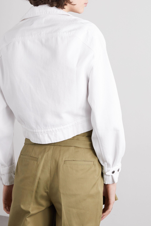 RtA Carlita cropped denim jacket