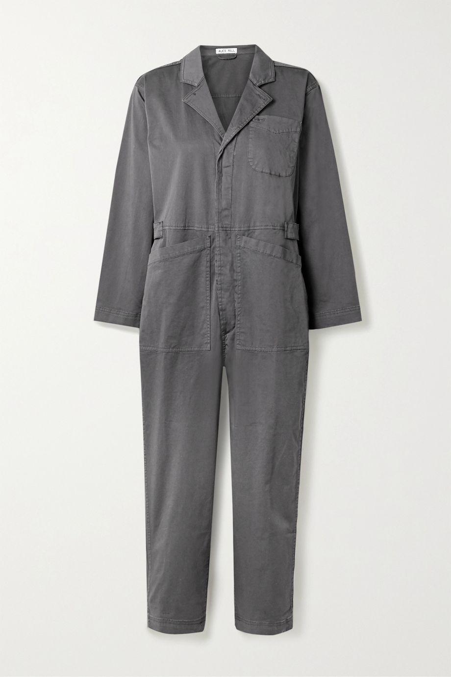 Alex Mill Combi-pantalon raccourcie en serge de coton mélangé Standard
