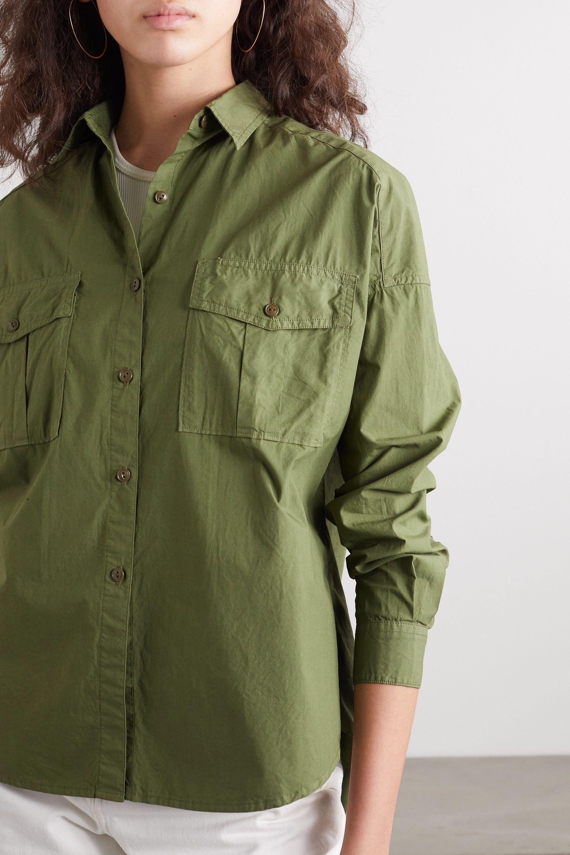 Alex Mill Keeper cotton-poplin shirt