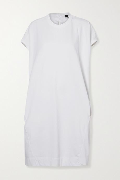 White Organic cotton-jersey dress | Bassike ZMiz3Y