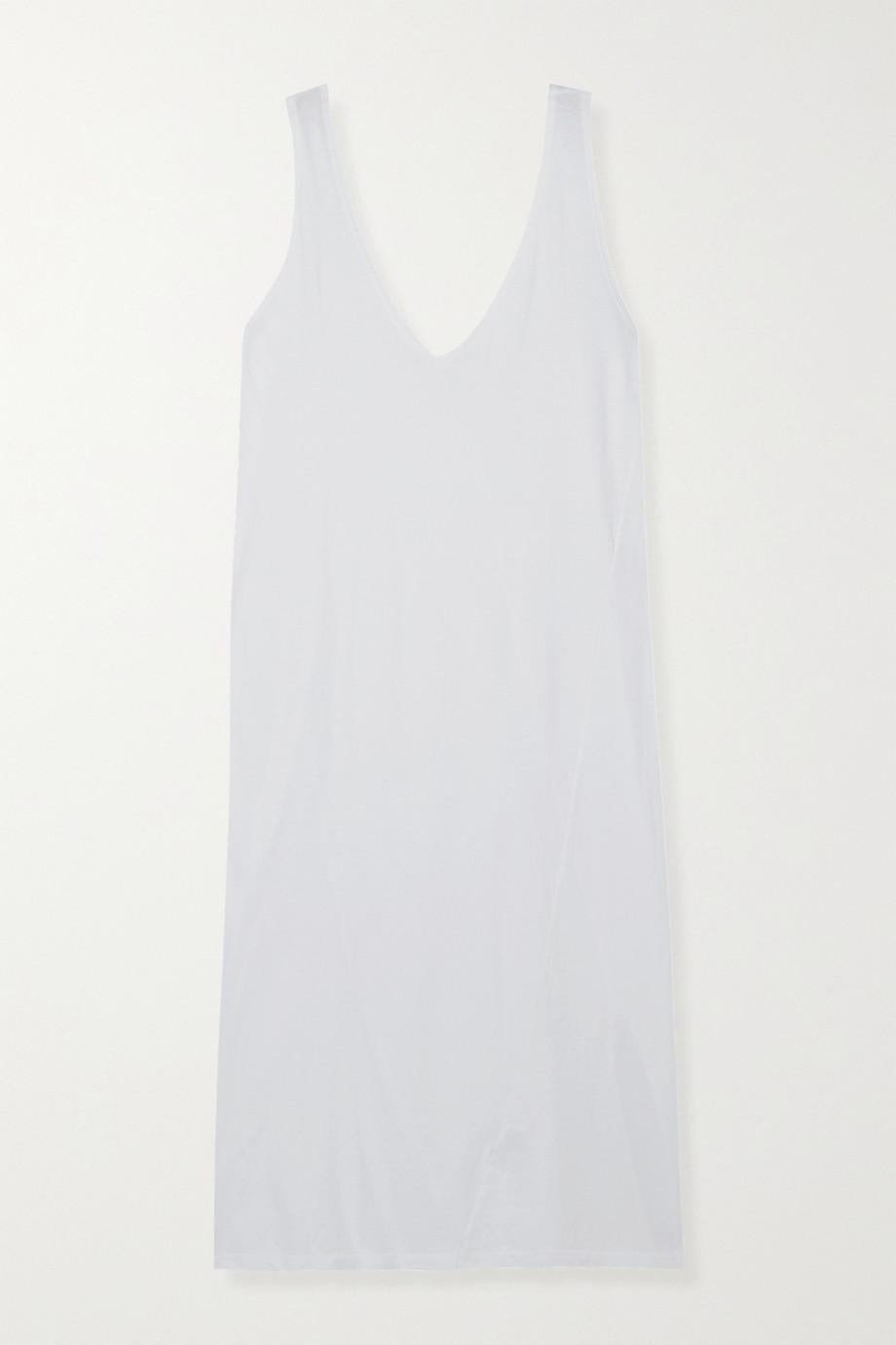 Bassike Organic cotton-jersey midi dress