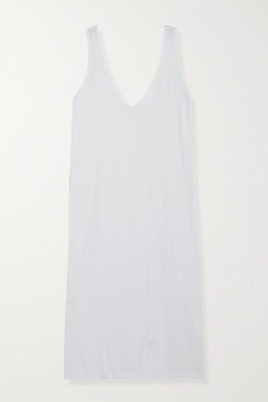 Bassike - Organic Cotton-jersey Midi Dress - White