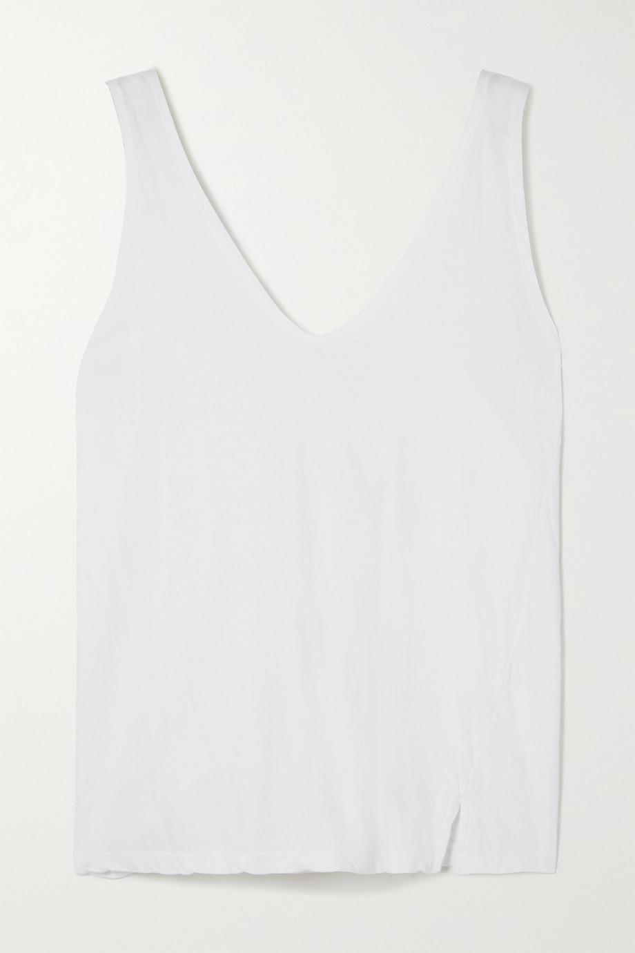 Bassike + NET SUSTAIN organic cotton-jersey tank