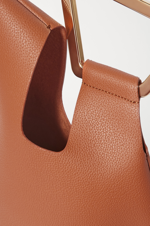 Cult Gaia Astraea mini textured-leather tote