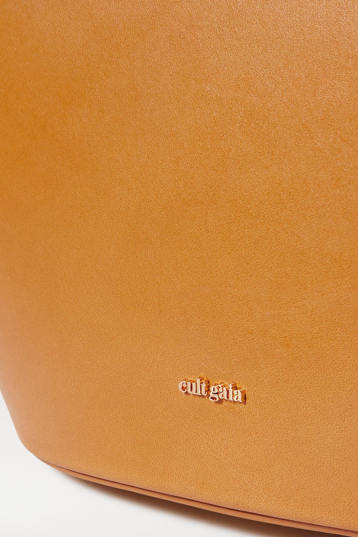 Cult Gaia Roksana canvas and leather tote