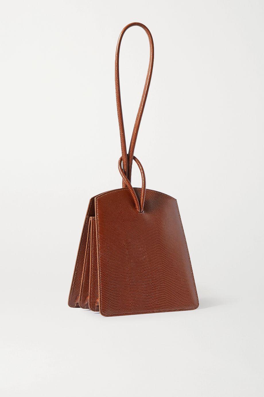 Little Liffner Loop lizard-effect leather tote