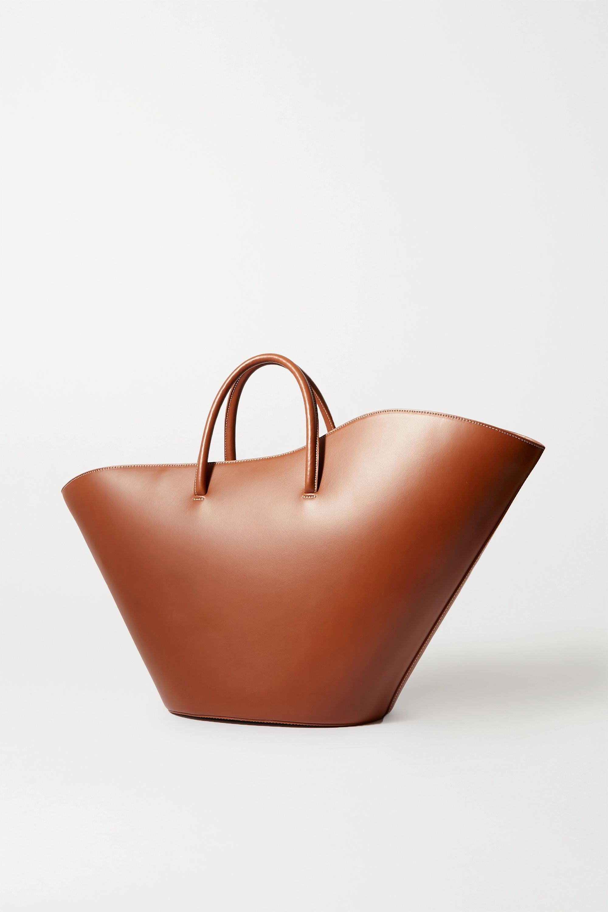 Little Liffner Tulip large leather tote