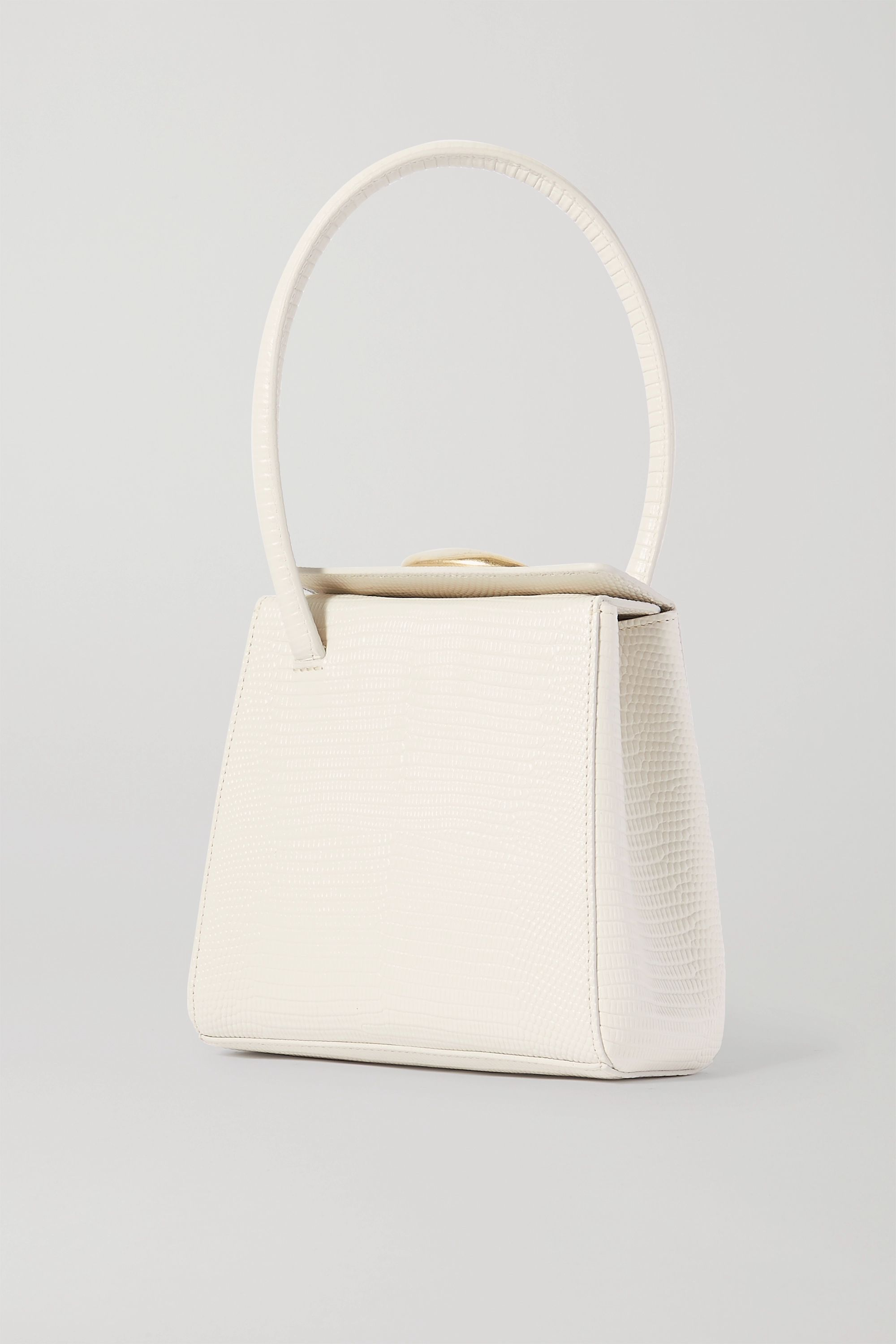 Little Liffner Mademoiselle lizard-effect leather tote