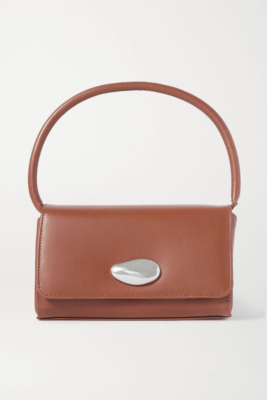 Little Liffner Baguette small leather shoulder bag