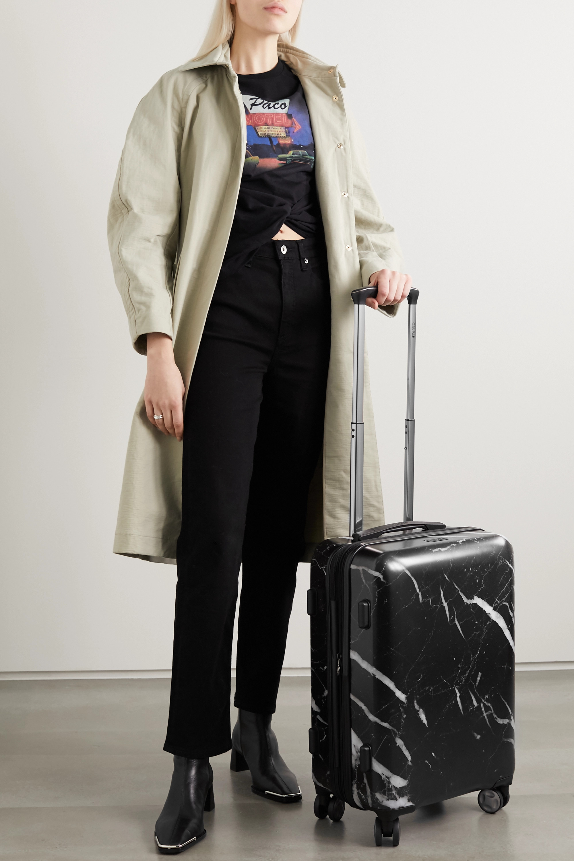 CALPAK Astyll Carry-On 大理石纹硬壳随身行李箱