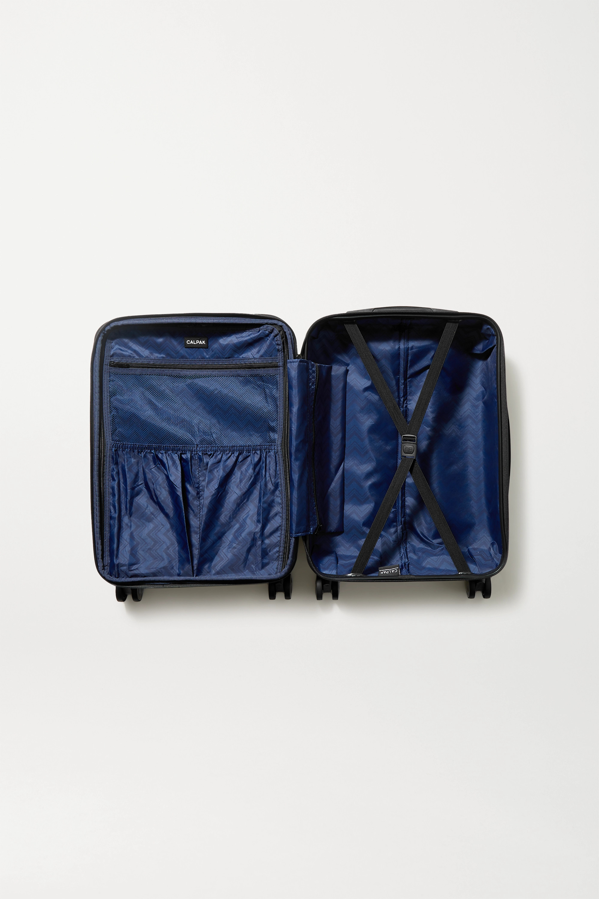 CALPAK Astyll Carry-On marbled hardshell suitcase