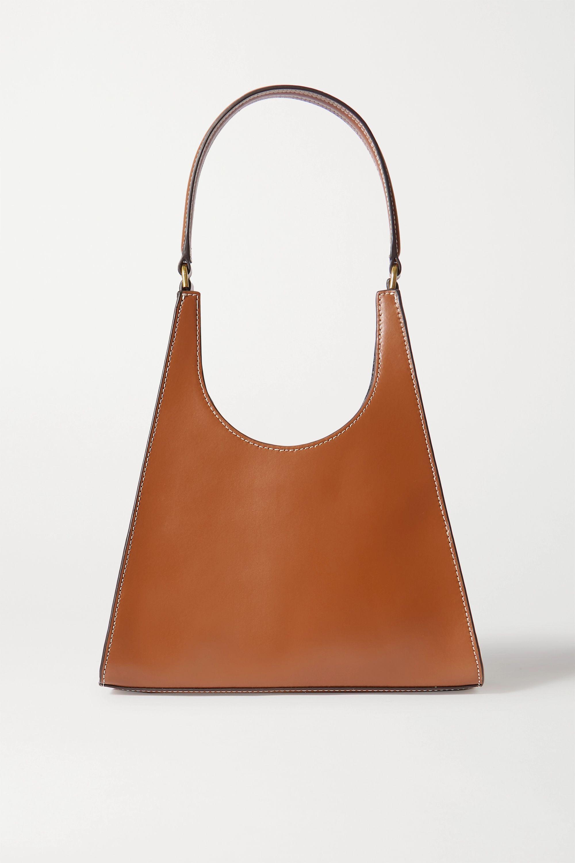 STAUD Rey leather shoulder bag