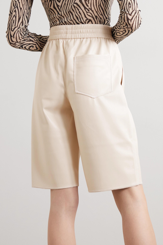 Nanushka Yolie vegan leather shorts