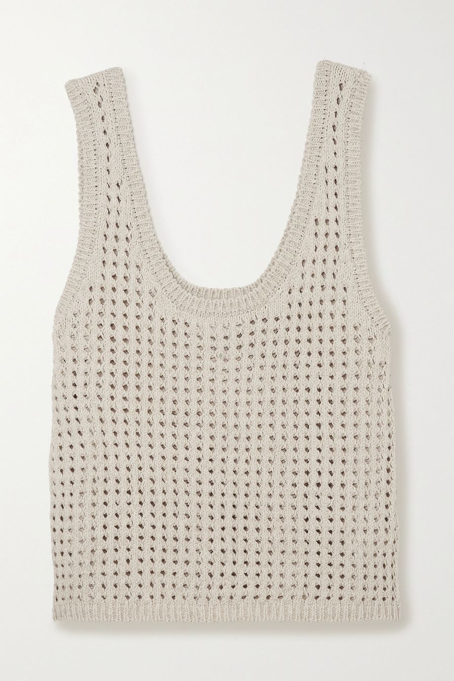 Nanushka Tula crocheted cotton-blend tank