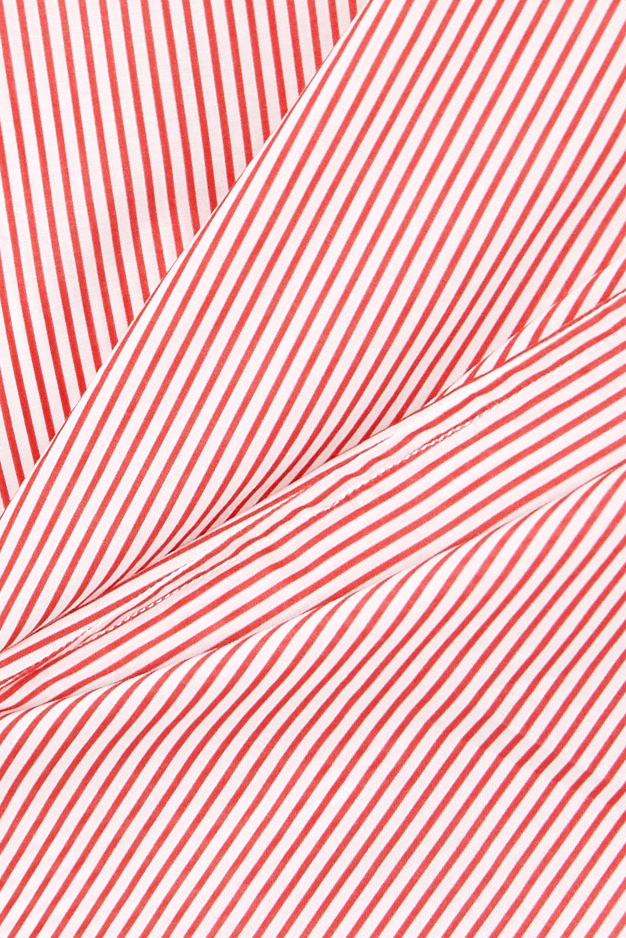 Pour Les Femmes Karachi striped cotton-voile kaftan