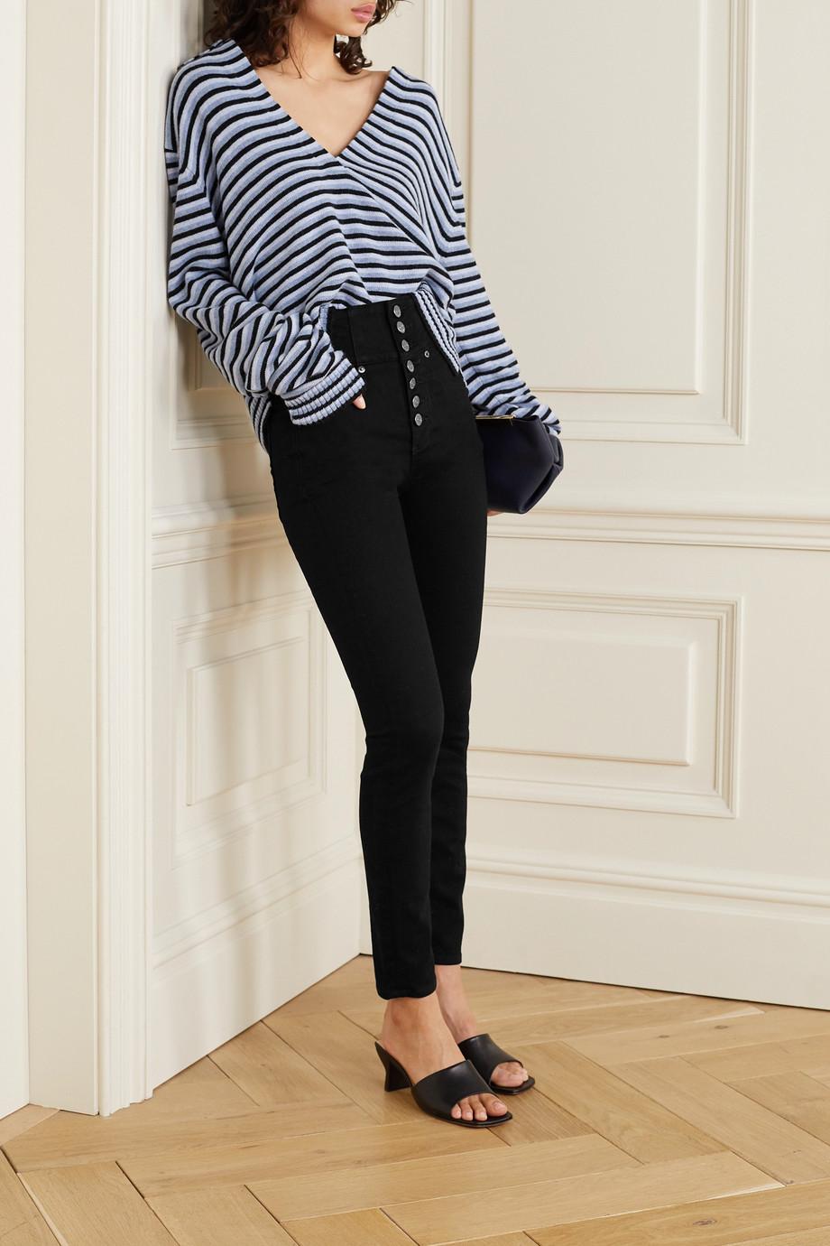 Veronica Beard Katherine high-rise skinny jeans