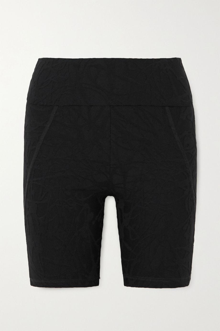 TWENTY Montréal Pollock 3D Active stretch jacquard-knit shorts