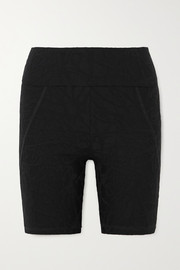 TWENTY Montréal Pollock 3D Active stretch jacquard-knit shorts