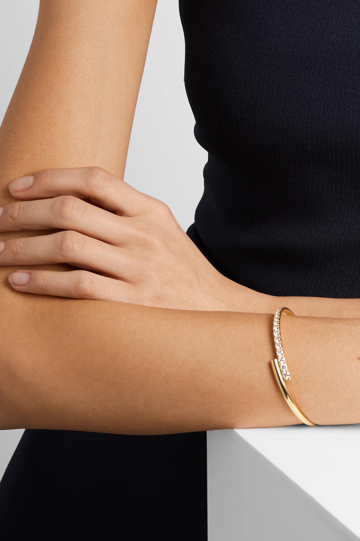 Gold Lola 18-karat Diamond Bracelet | Melissa Kaye