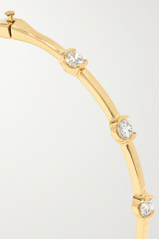 Doré Bracelet En Or 18 Carats Et Diamants Zea | Melissa Kaye