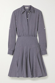 Jason Wu Striped poplin mini shirt dress