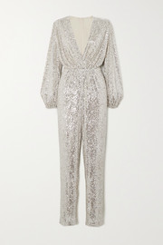 In The Mood For Love Björk sequined tulle jumpsuit