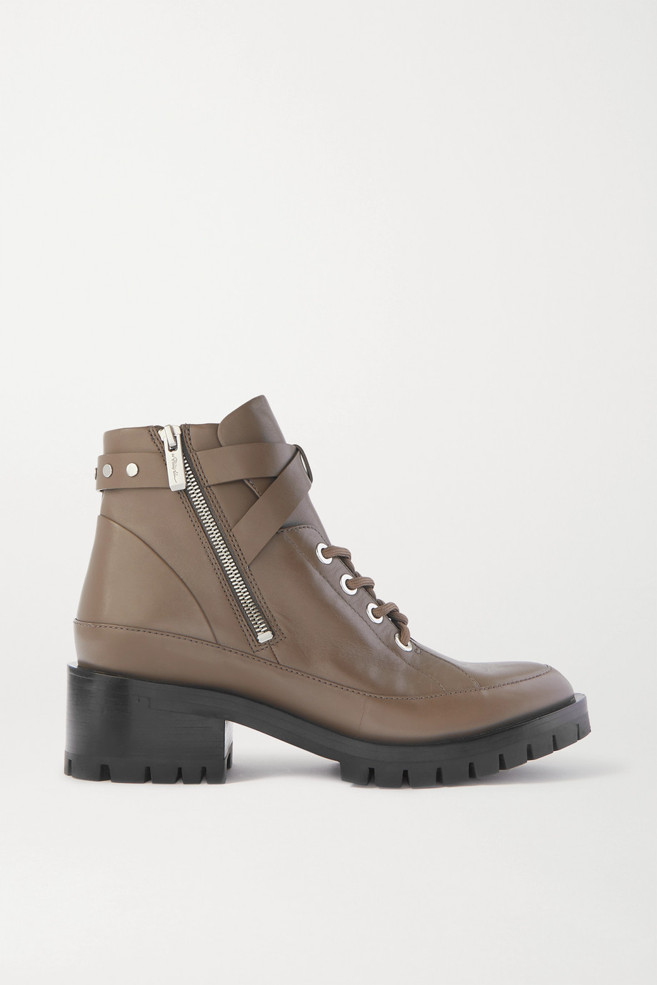 3.1 Phillip Lim + Space for Giants Hayett lace-up leather ankle boots