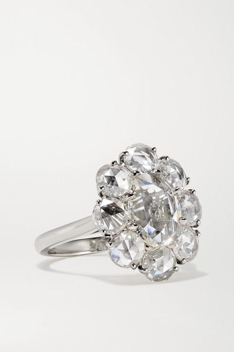 Silver Platinum diamond ring | Bayco Y4zCkS