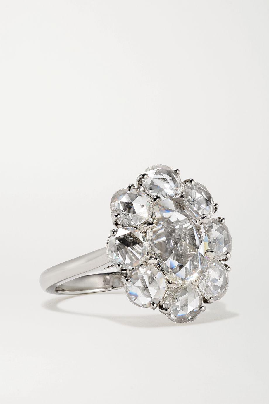 Bayco Ring aus Platin mit Diamanten