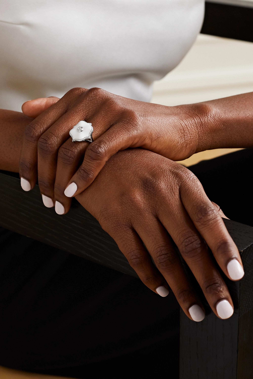 Bayco Platinum, diamond and ceramic ring
