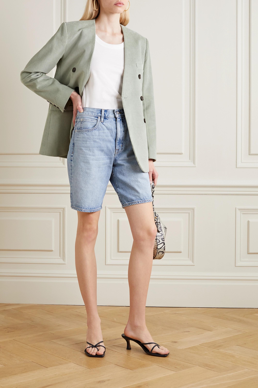 SLVRLAKE London denim shorts