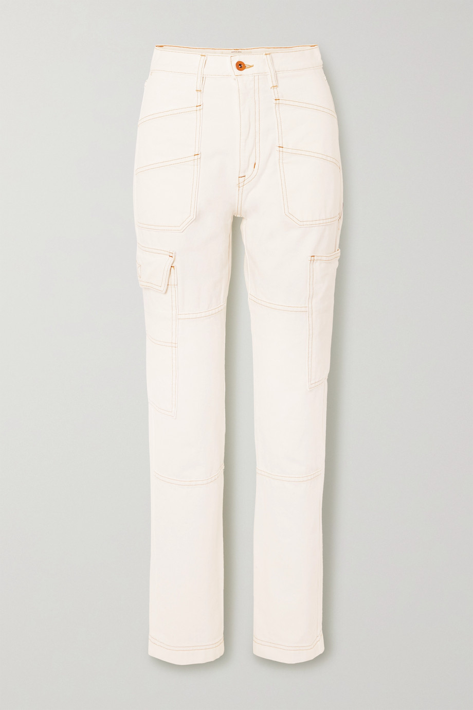 Savior high-rise straight-leg jeans by SLVRLAKE, available on net-a-porter.com for $126 Kendall Jenner Pants Exact Product