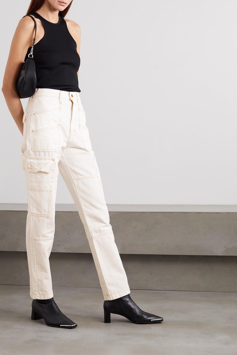SLVRLAKE Savior high-rise straight-leg jeans