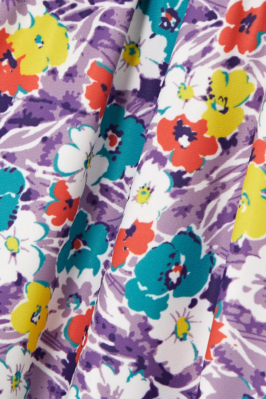 Faithfull The Brand Hanna Badeanzug mit Blumenprint, Bügeln und Rüschen