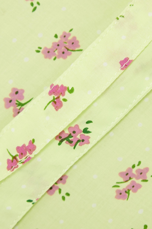 Faithfull The Brand + NET SUSTAIN Florence ruffled floral-print crepe mini dress