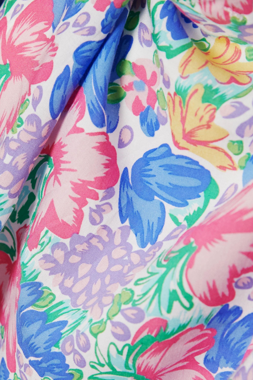 Faithfull The Brand + NET SUSTAIN Pareo aus Voile mit Blumenprint