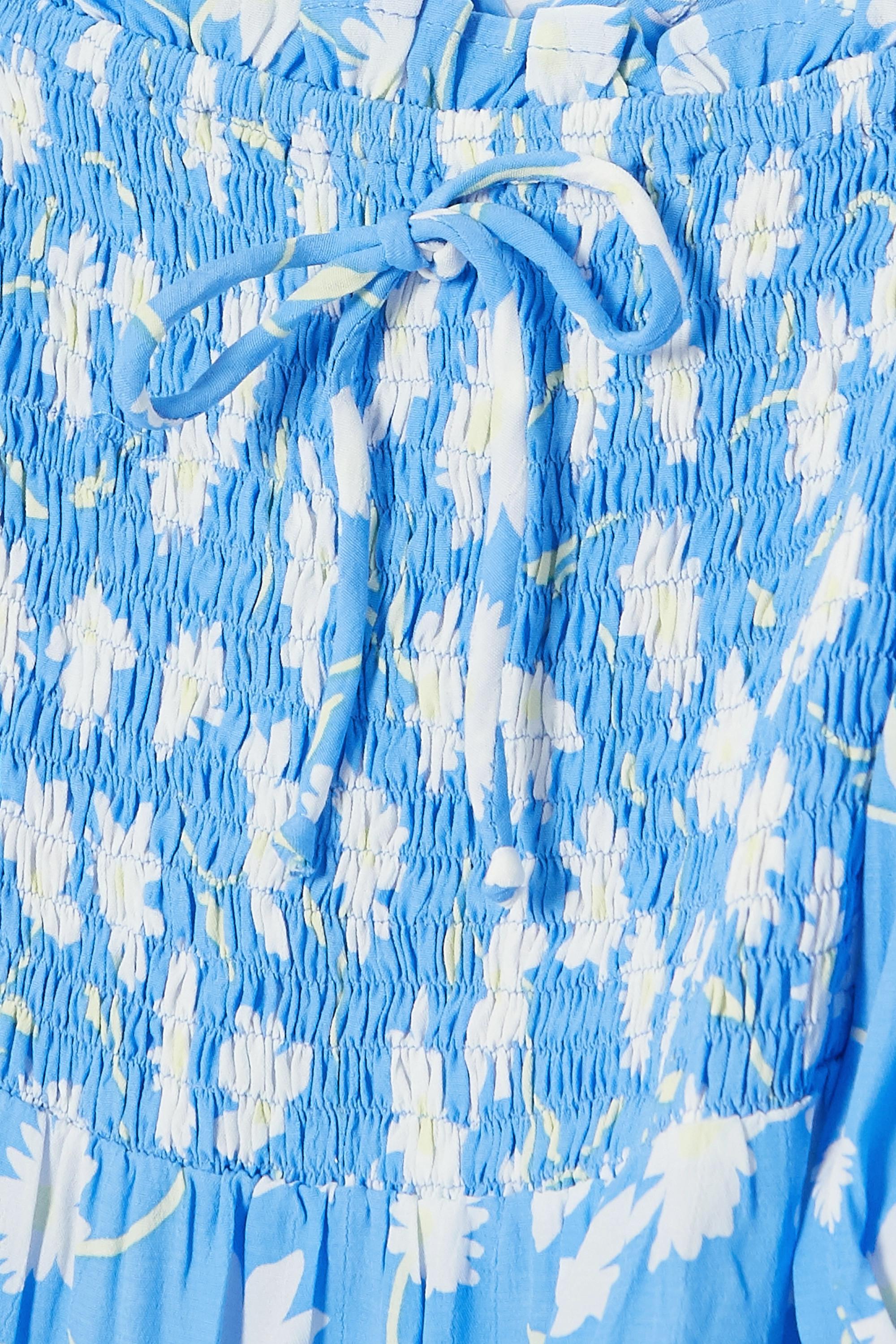 Faithfull The Brand + NET SUSTAIN Olinda shirred floral-print crepe midi dress