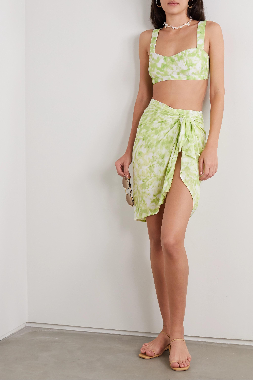 Faithfull The Brand Culotte de bikini tie & dye Chaumont - NET SUSTAIN