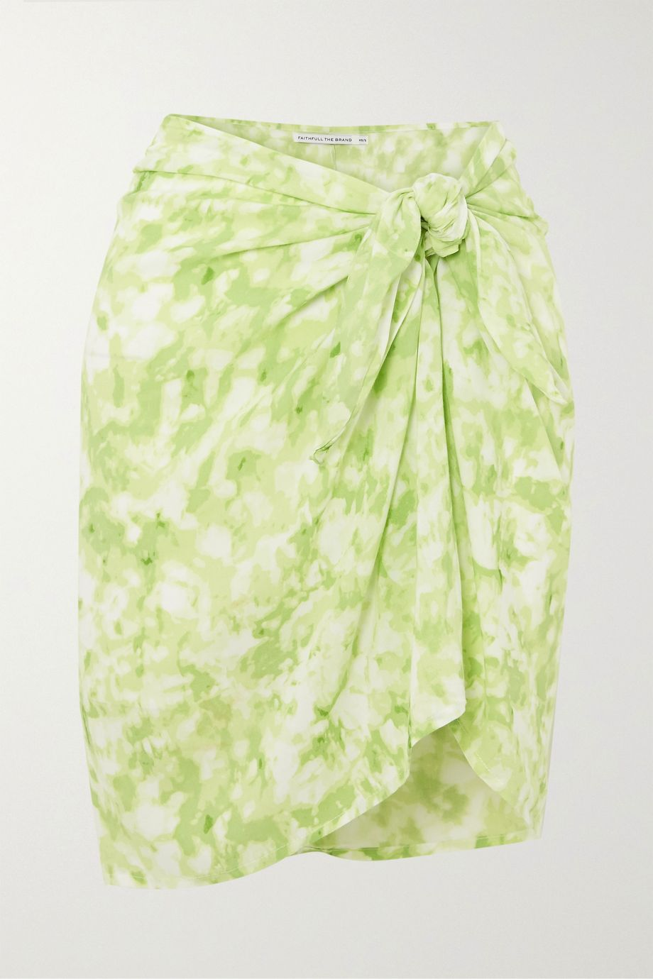 Faithfull The Brand Tie-dyed voile pareo