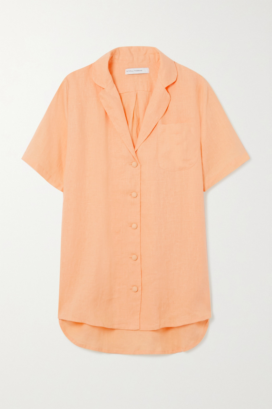 Faithfull The Brand + NET SUSTAIN Charlita linen shirt
